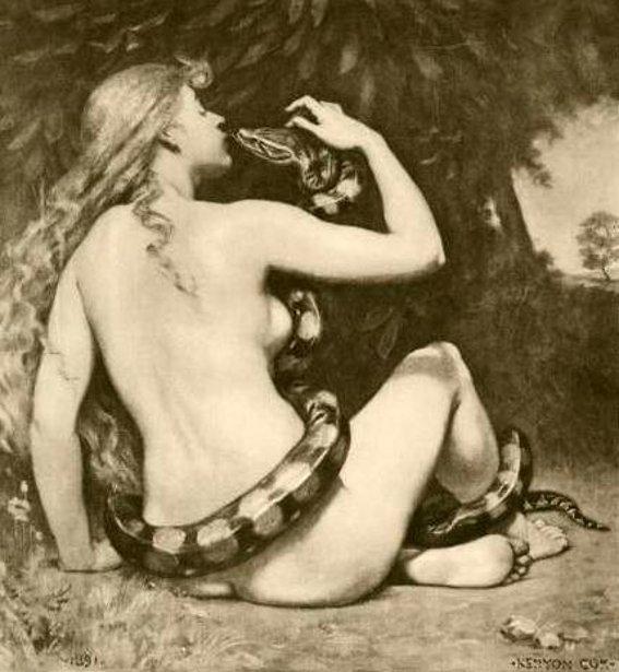 """""""Lilith"""" por Kenyon Cox"""